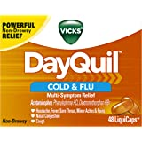 Vicks DayQuil Cold & Flu Multi-Symptom Relief LiquiCaps 48 ct