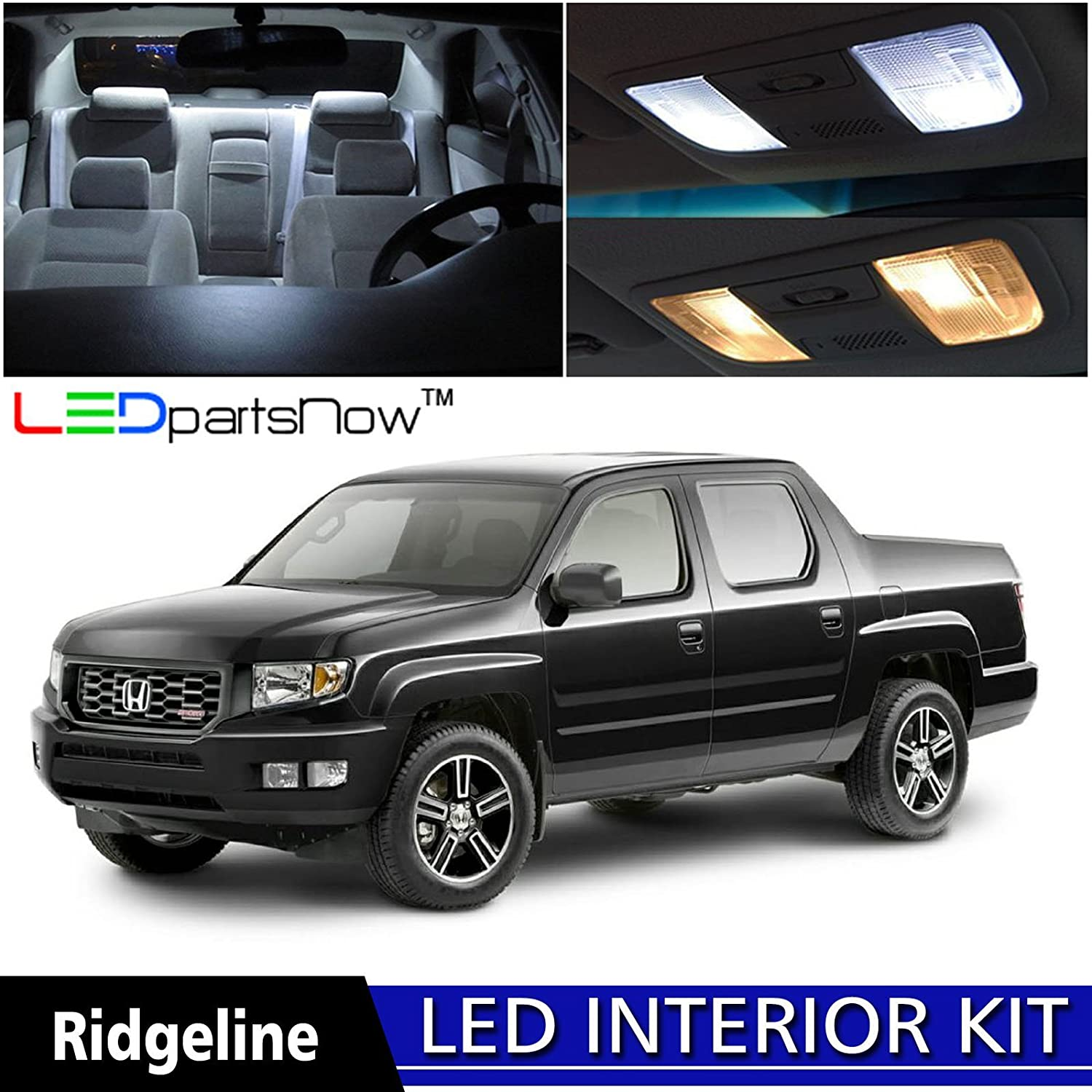 2006 Honda Ridgeline Fuse Box Back Seat Accessories 51 Wiring 2013 Dodge Dart F 84 Sl1500 Amazon Com Ledpartsnow 2014 Led Interior