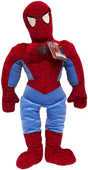 """Spiderman Pillow Pal Plush Soft Marvel Ultimate 26/"""" Car Home Cuddle Child Toy"""