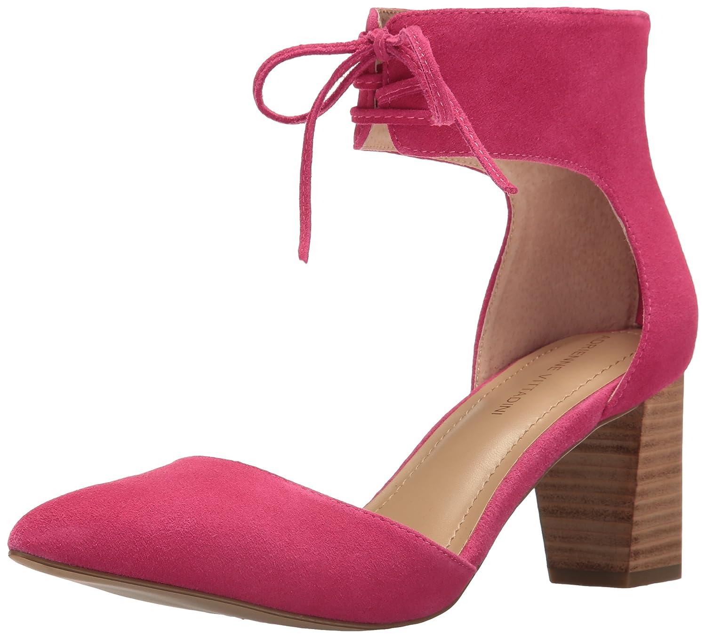 ADRIENNE VITTADINI Footwear Women's Nicole D'Orsay Pump B01N9HSJ8U 6 B(M) US Hot Pink