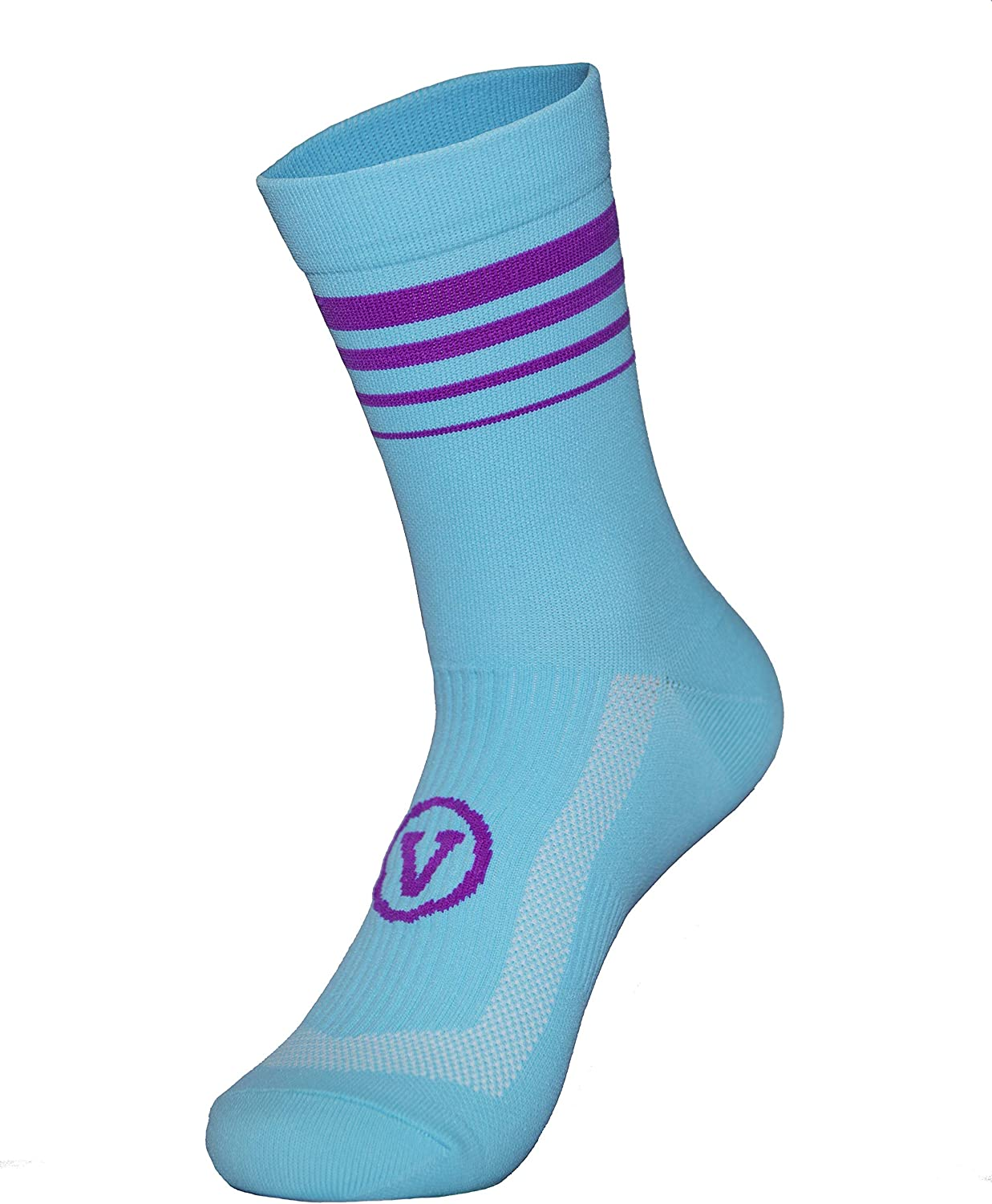 Fast Drying Breathable Cycling Socks SeeMees Mens Runninng compression Ankle Support