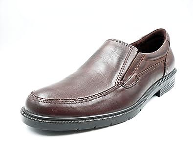 Zapatos Hombre Tipo Mocasin de la Marca Pitillos - Piel Color marrón - 4911-17: Amazon.es: Zapatos y complementos
