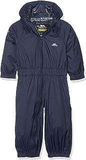 585439be2ee4 Trespass Kids  Waterproof Drip Drop Outdoor Rain Suit  Amazon.co.uk ...