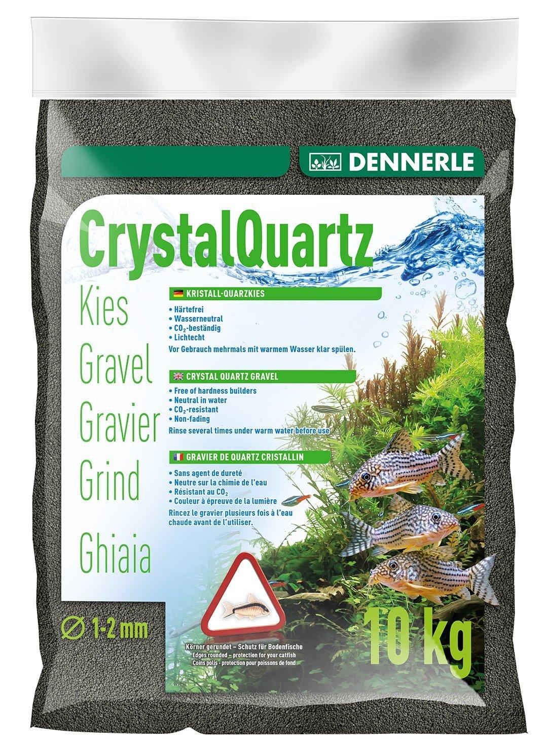 Dennerle Gravier quartz noir (1 à 2 mm), 5 kg 1755