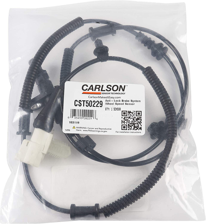 position Rear Left Carlson CST50229 ABS Wheel Speed Sensor