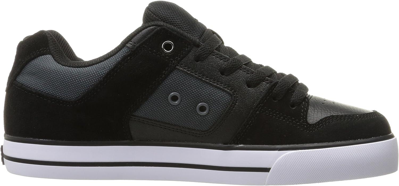 DC Shoes PURE SE SHOE D0301024, Baskets mode homme Noir Gris