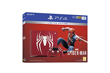 Limited Edition Amazing Red Marvel's Spider Man 1 Tb Ps4™ by Play Station
