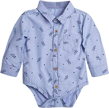 OFFCORSS Baby Boy Premmie Long Sleeve Onesies Kids Clothes Ropa para Bebe  Niño ab7efa530