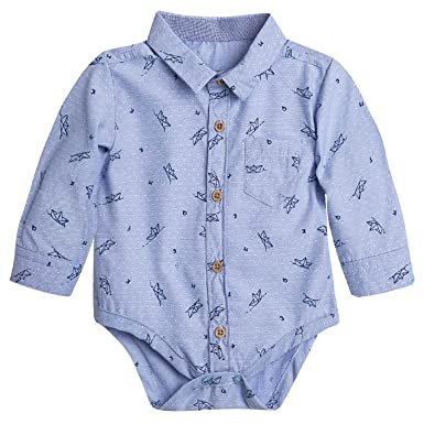 c5eec1db7 Amazon.com  OFFCORSS Baby Boy Premmie Long Sleeve Onesies Kids ...