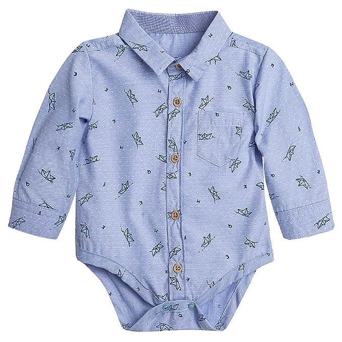 OFFCORSS Baby Boy Premmie Long Sleeve Onesies Kids Clothes Ropa para Bebe Niño