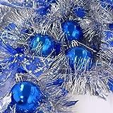 クリスマスツリー ブルーオーナメントパック Mサイズ