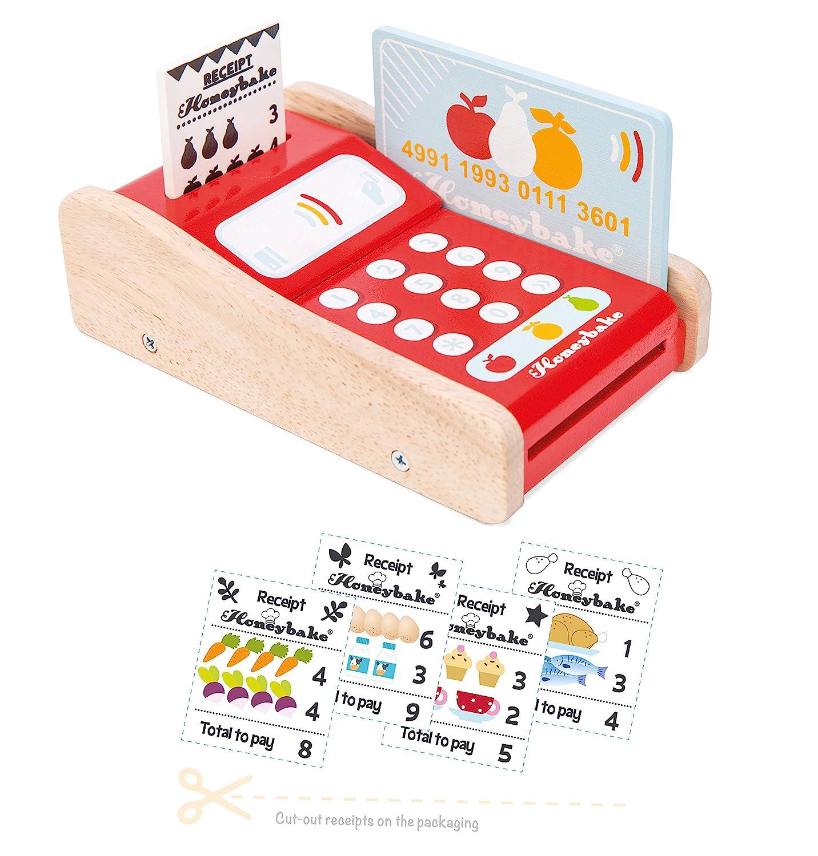 b5fc5e8b0 Le Toy Van Honeybake Wooden Card Machine: Amazon.co.uk: Toys & Games