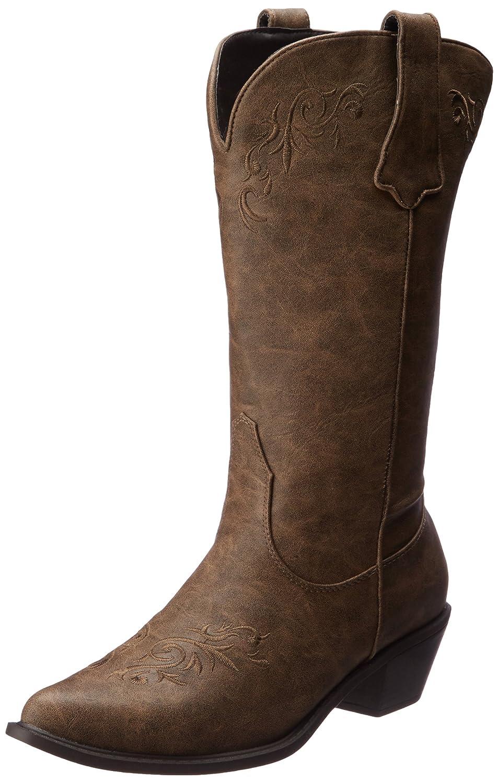 Roper Women's Scrolls and Vines Western Boot B009L76OY4 9.5 B(M) US|Tan