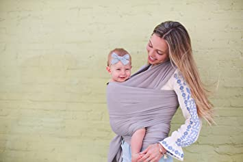 Boba Bamboo Wrap Grey Amazon Co Uk Baby