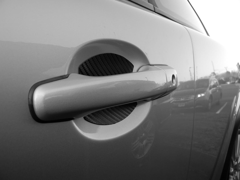 White car door handle Trim Molding Amazoncom Lexus Auto Accessory Door Handle Trim Molding Scratch Cover Guards Carbon Fiber Door Pack Automotive Amazoncom Amazoncom Lexus Auto Accessory Door Handle Trim Molding Scratch