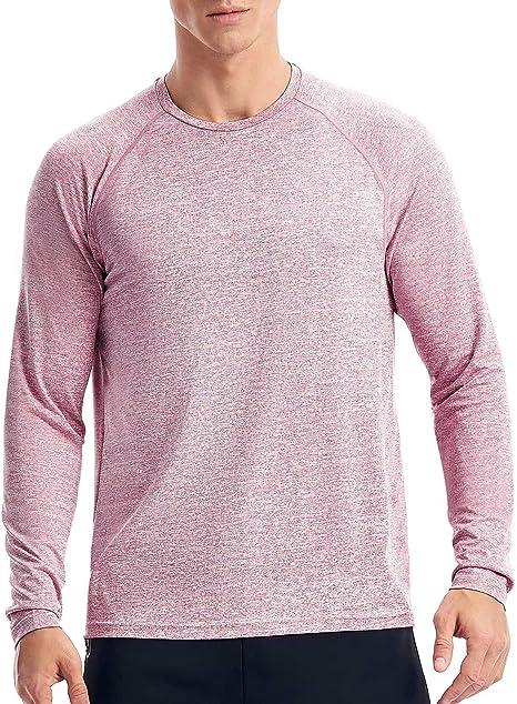 Zengjo Mens Athletic Shirts Short Sleeve