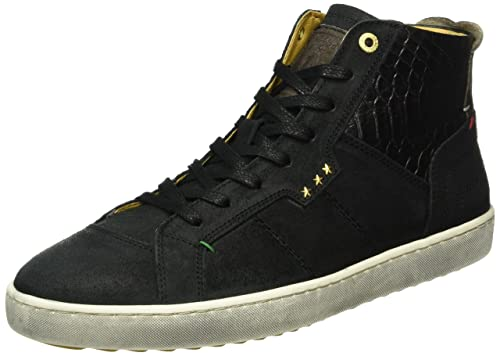 Canaverse Uomo Mid, Mens Low-Top Sneakers Pantofola D'oro