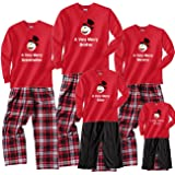 Footsteps Clothing A Very Merry Snowman Personalized Family Adult Pajamas & Kids Playwear
