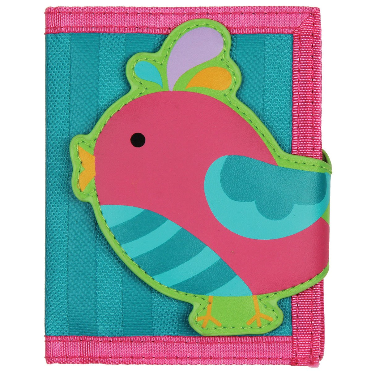 Stephen Joseph Girls Quilted Song Bird Purse and Wallet with Charm by Stephen Joseph (Image #4)
