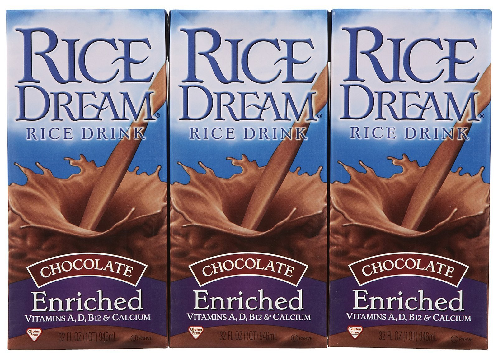 Dream Rice Dream Drink, Enriched Chocolate, 32 oz, 3 pk by Dream