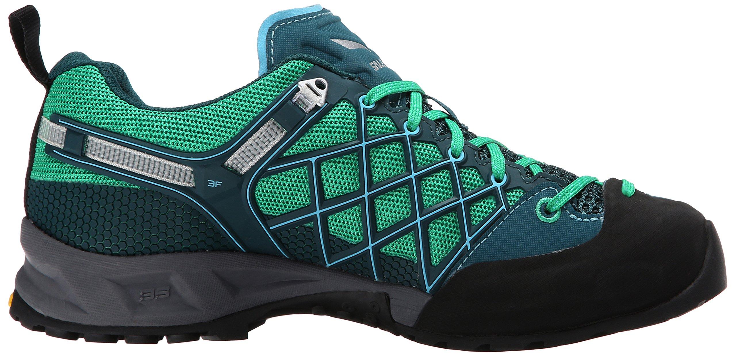 Salewa Women's Wildfire S GTX Technical Approach Shoe, Cypress/River Blue, 6.5 M US by Salewa (Image #6)