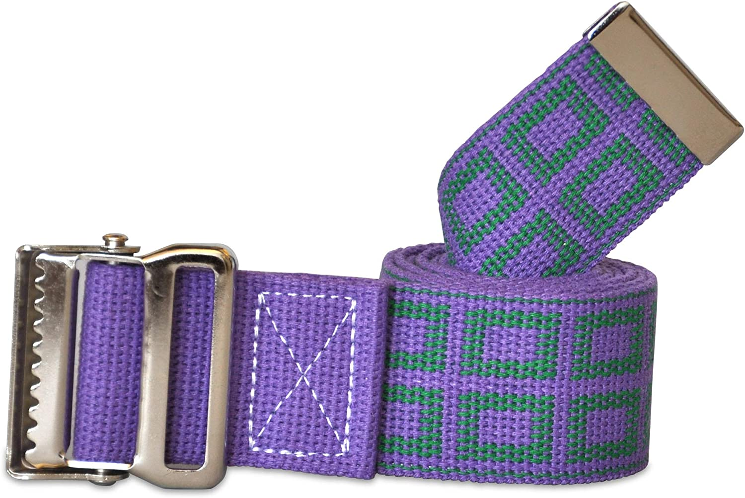 Size Color Adjustable Machine Washable Strong and Durable Cotton Material Latex Free NYOrtho Metal Buckle Gait Belt