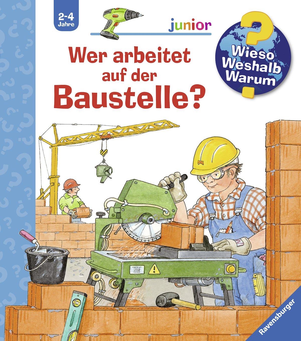 Pappbilderbuch Hallo 7 Seiten Baggerfahrer Peter! ab 18 Monaten