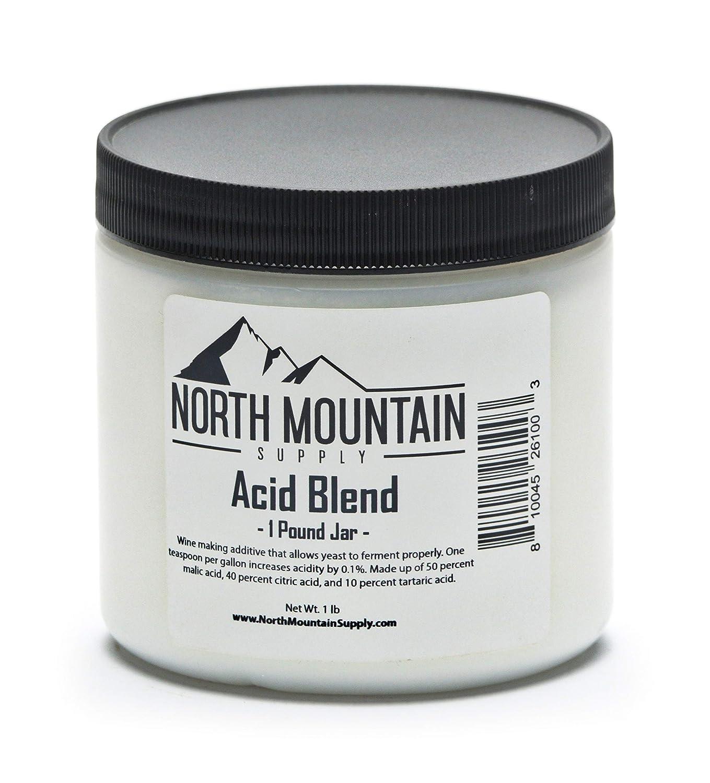 North Mountain Supply Food Grade Acid Blend - 1 Pound Jar