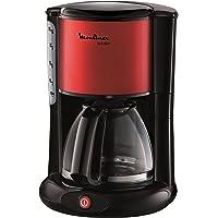 Moulinex FG360D11cam-kahve makinesi Subito Metalik, Kırmızı