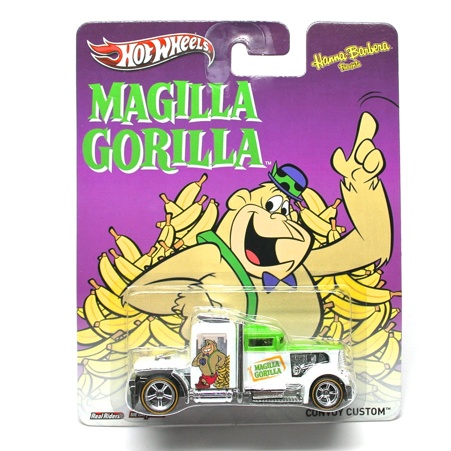 CONVOY CUSTOM  MAGILLA GORILLA/ HANNA-BARBERA  Hot Wheels 2013 Pop Culture Series 1:64 Scale Die-Cast Vehicle by Hot Wheels