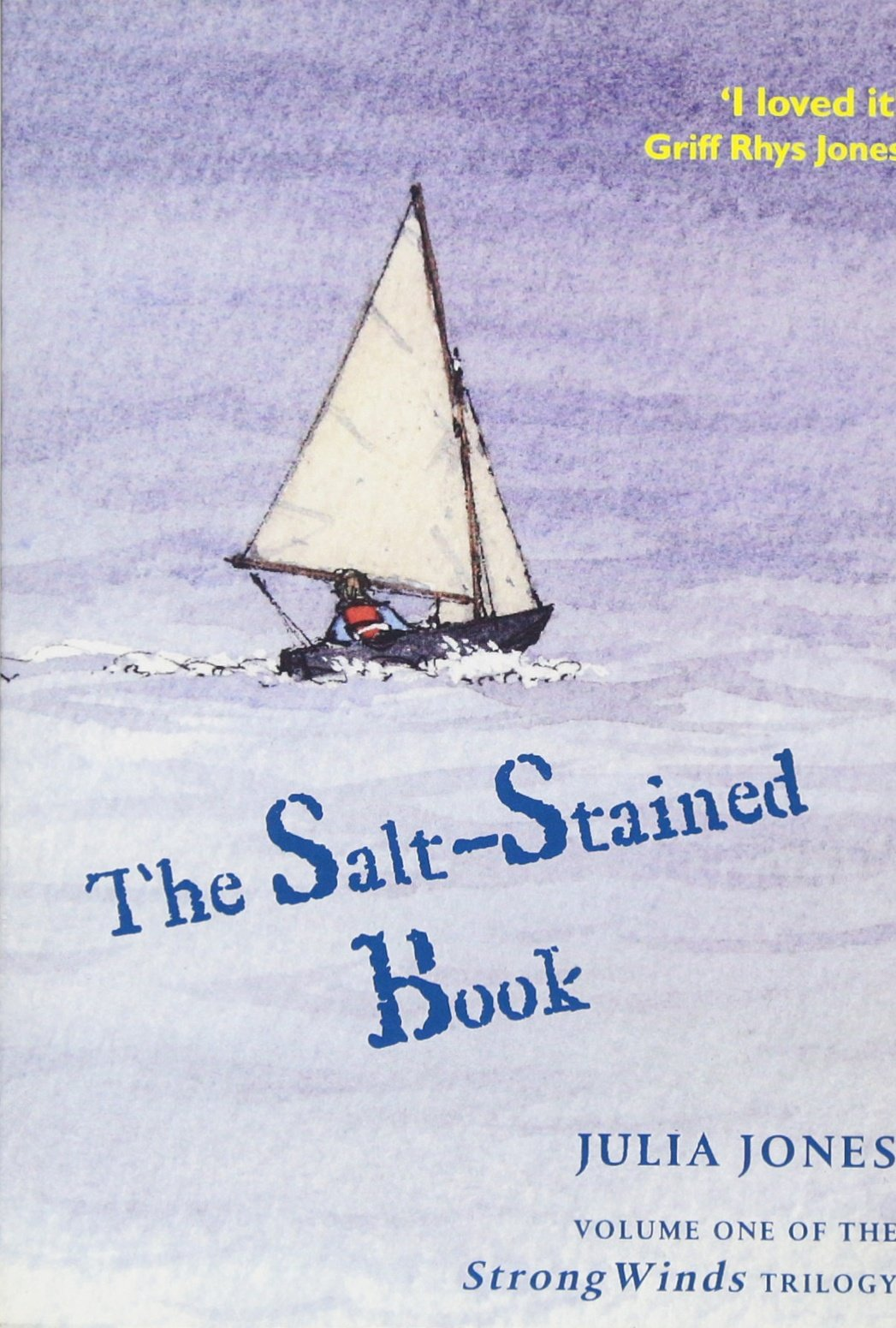 Salt Stained Book Strong Winds