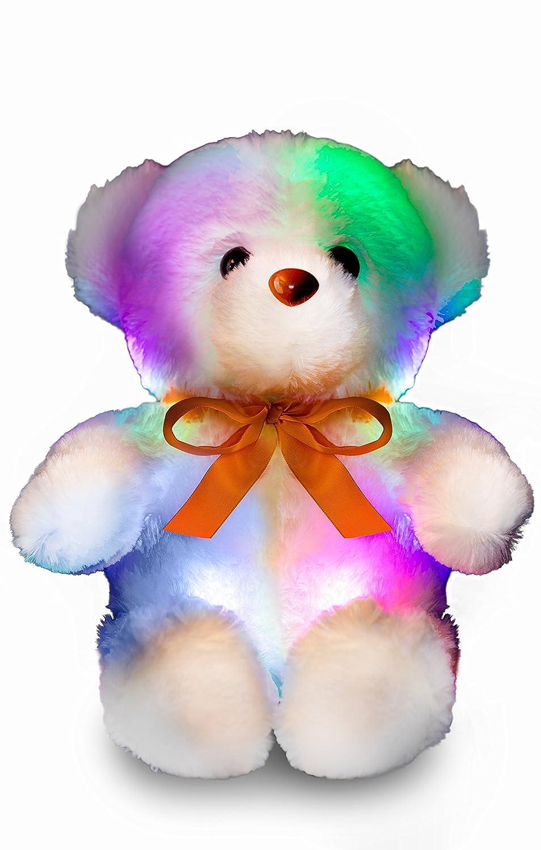 Peluche 50 cm Grande LED osito de fanami - Parejita de peluche Teddy como luz nocturna - de gran calidad y laborgetestetes LED Peluche de oso de peluche ...