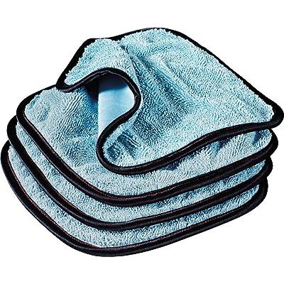 Griot's Garage PFM Dual Weave Glass Towels (Set of 4): Automotive