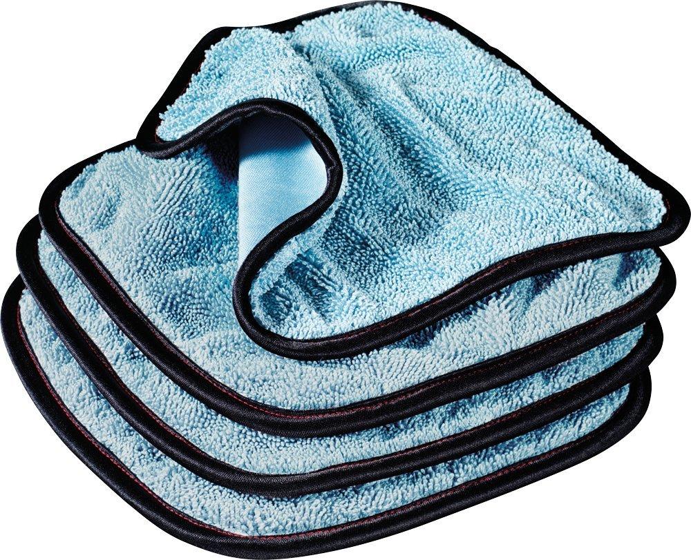 Griot's Garage 55582 PFM Dual Weave Glass Towel, Set of 4 Griots Garage