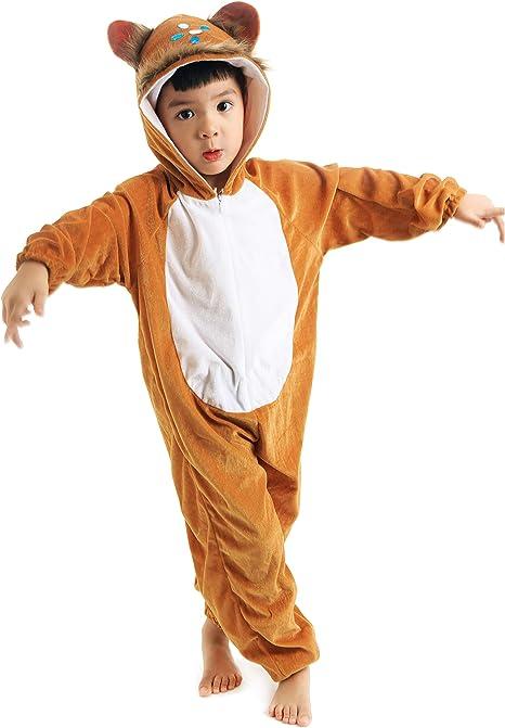 LOLANTA Disfraz de Mono para niños Disfraz de Cosplay de Halloween ...