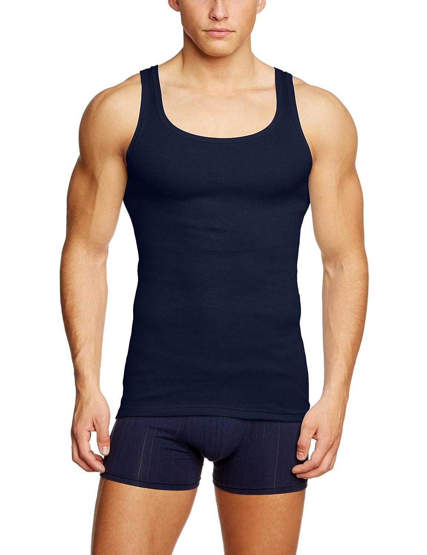 Calida Men's Athletic-shirt Twisted Cotton Sleeveless Vest: Amazon.co.uk:  Clothing