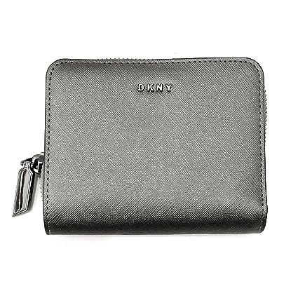 DKNY - Cartera para mujer Plateado plata Wallet Size - 120mm ...