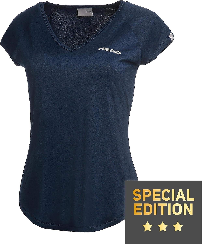 Wei/ß Oberbekleidung HEAD Damen Janet T-Shirt Special Edition