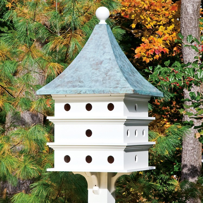 25'' Outdoor Enchanted Blue Verde Ultimate Martin Garden Birdhouse