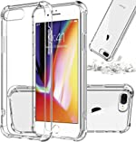 [ Storm Buy ] Shockproof Thin Clear Phone Case Compatible for