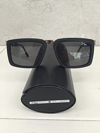 ad2fc703bf97 Sunglasses Cazal 6006 003 56 17 140 Black-Silver Grey Lens 100% Authentic  New