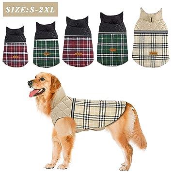 Amazon.com: FairyMe suéteres para perro, ropa de invierno ...