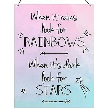 Amazon.de: Wenn es regsucht die Regenbogen Wenn es dunkel