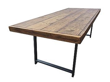 Tavoli Da Pranzo In Legno Riciclato : Revive falegnameria posti tavolo da pranzo sala riunioni legno