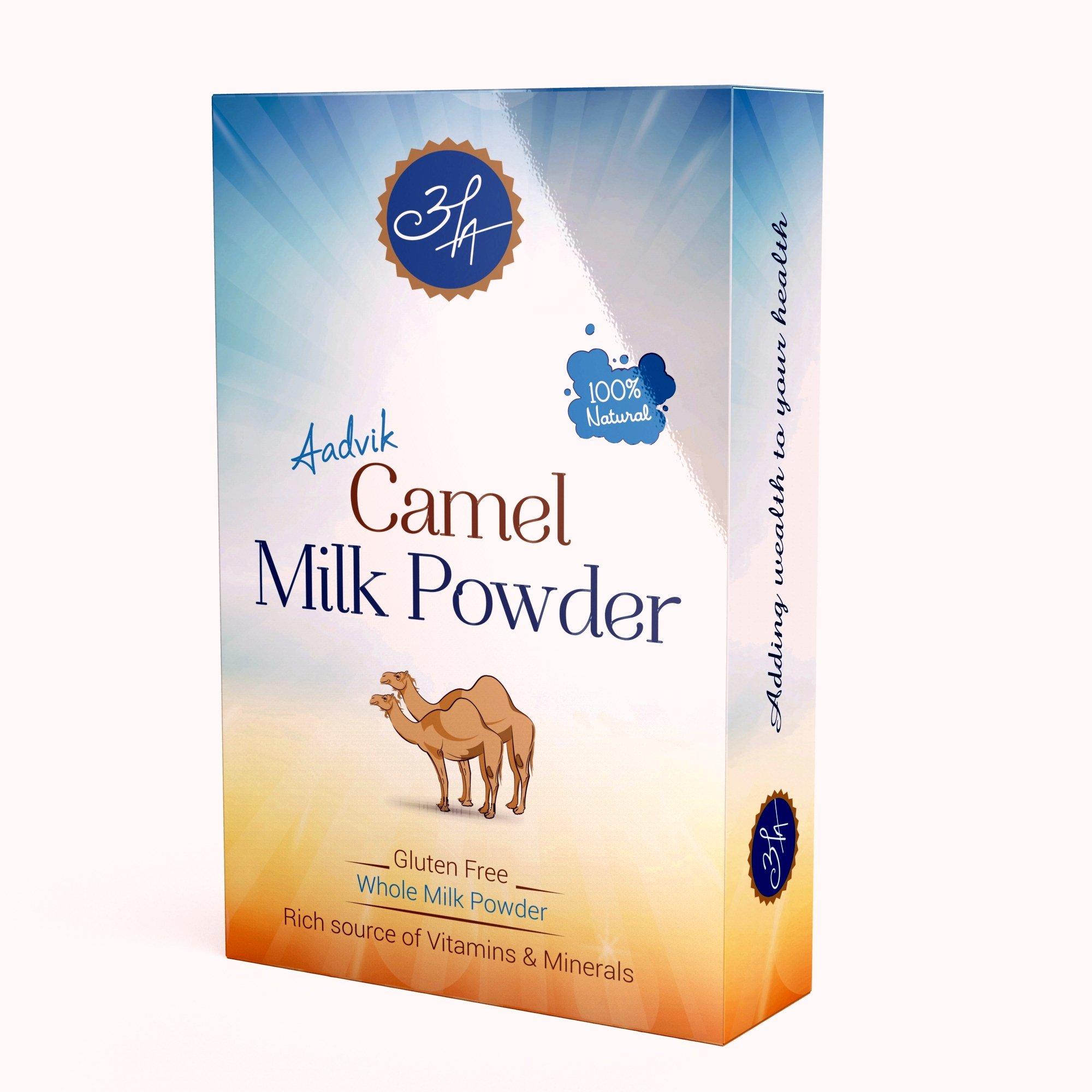 Aadvik Camel Milk Powder 0.7 Oz x 5 Servings (Freeze Dried, Gluten Free, No Additives) 3.5 Oz makes 35 fl oz