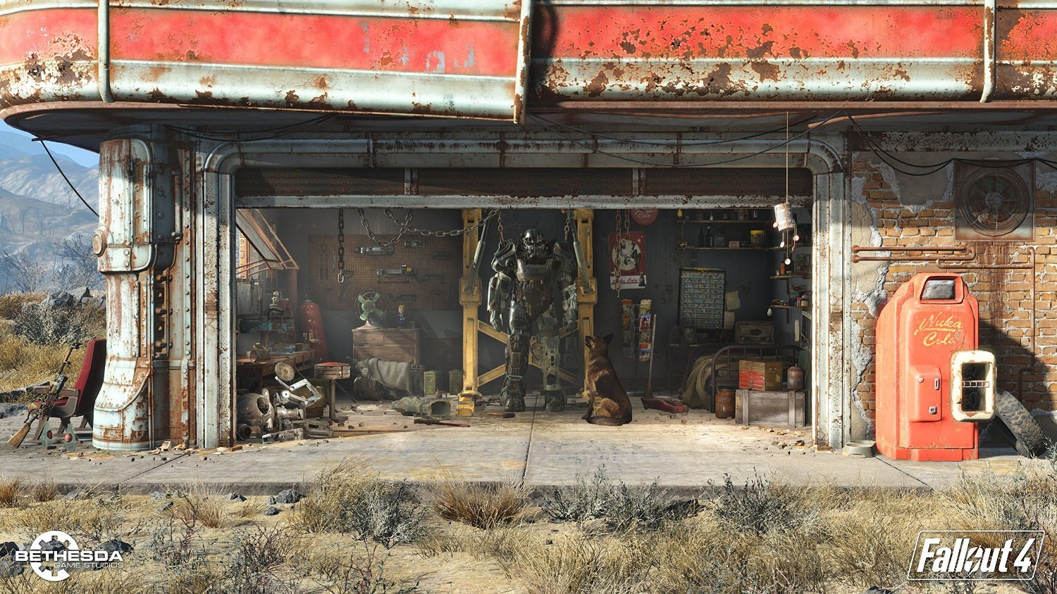 Fallout 4 (with Fallout 3 DLC) Xbox One Game by Bethesda (Image #3)