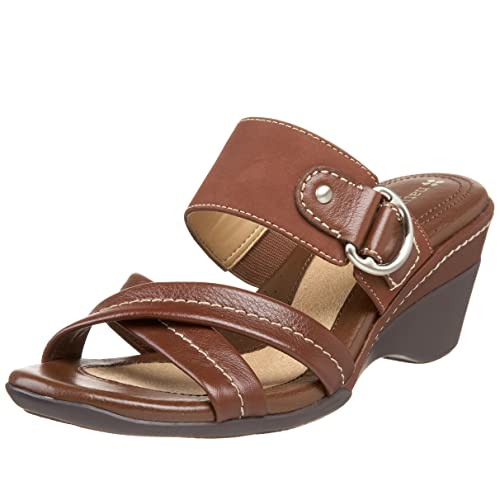 af89faf85663 Naturalizer Women s Aileen Strappy Slide