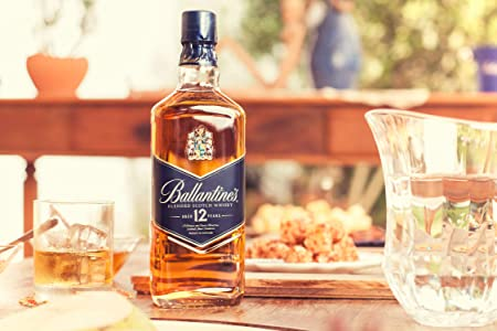 Ballantine's Blue 12 años Whisky Escocés de Mezcla - 700 ml