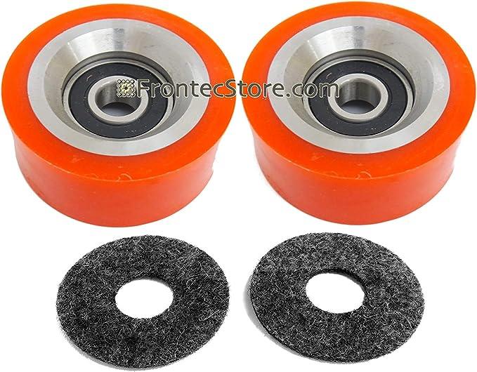 70568201 Orange Dryer Drum Support Roller Bearing for Alliance ALS 70298701P 3pk