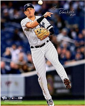 GIO GIOVANNY URSHELA AUTO 2015 Bowman Chrome Autograph Yankees Rookie Card RC